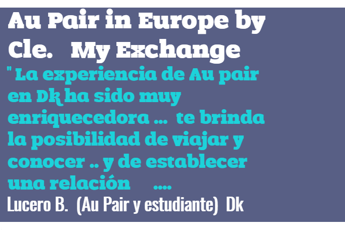 Au Pair Francia Cle Colombia